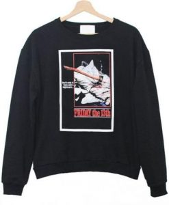 Friday The 13th Sweatshirt ZNF08