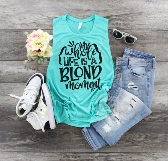 Funny Womens TANK TOP ZNF08