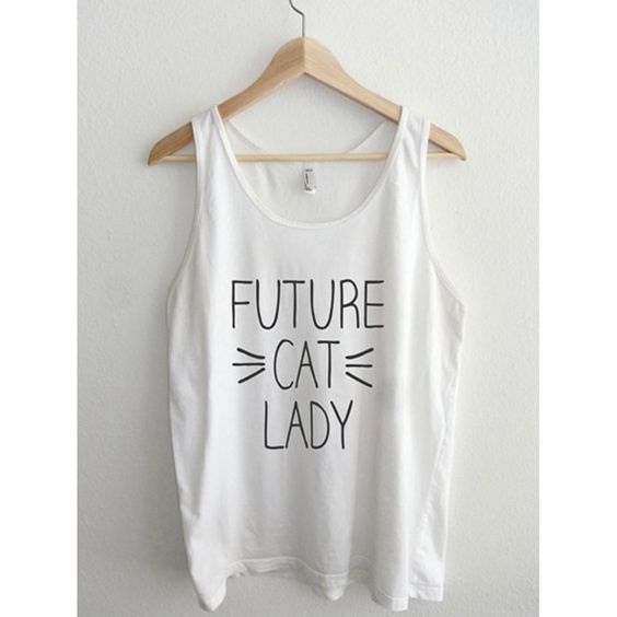 Future Cat Lady Tanktop ZNF08