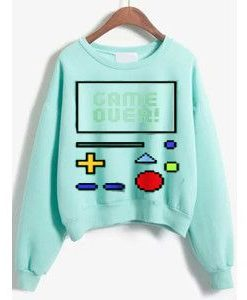 GAME CONTROL SWEATSHIRT ZNF08