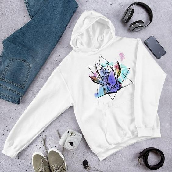 Geo Crystals Hooded ZNF08