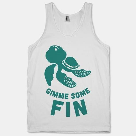 Gimme Some Fin Tank Top ZNF08