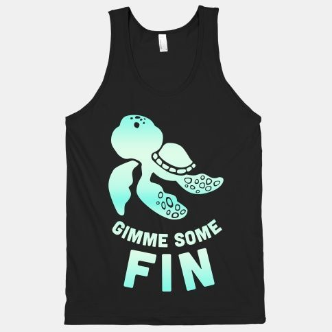 Gimme Some Fin Tanktop ZNF08