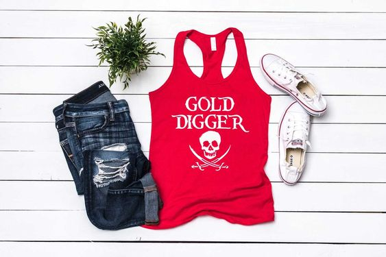 Gold Digger Tank Top ZNF08