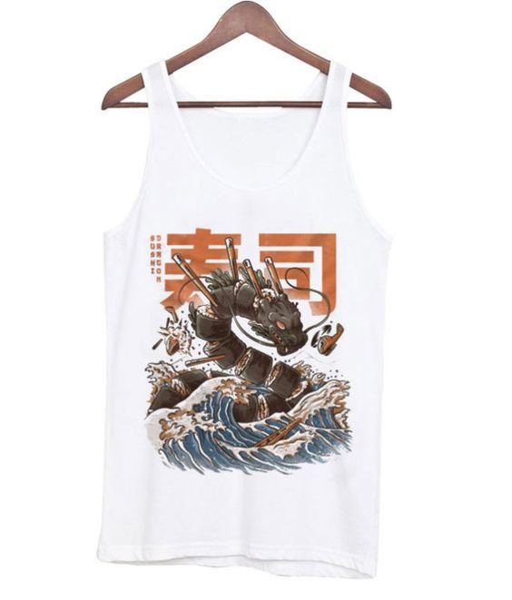Great Sushi Dragon Tanktop ZNF08