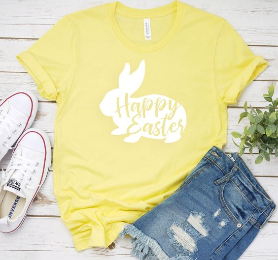 HAPPY EASTER TSHIRT ZNF08