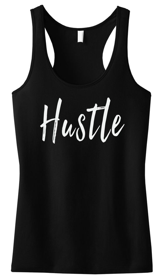 HUSTLE Tank Top ZNF08