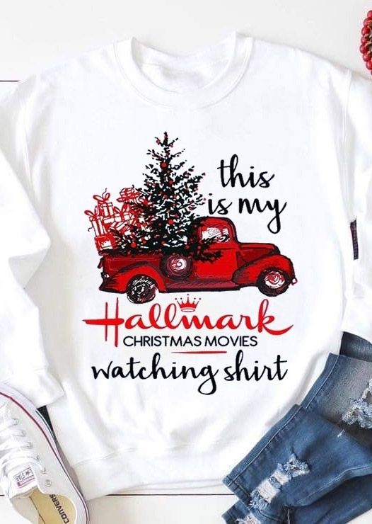 Hallmark Christmas Movies Watching Shirt ZNF08