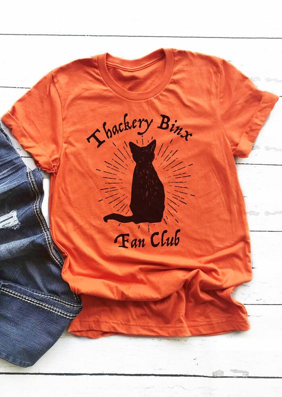 Halloween Thackery Binx Fan Club TSHIRT ZNF08