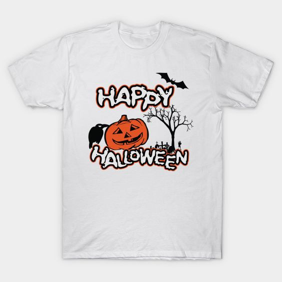Happy Halloween Funny T Shirt ZNF08