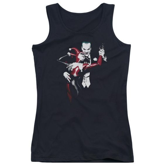 Harley And Joker Juniors Tank Top ZNF08