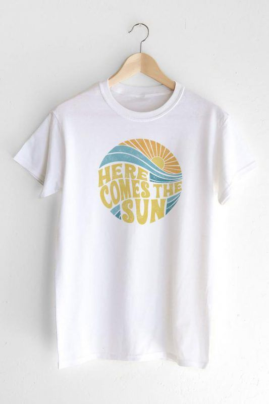 Here Comes the Sun T-shirt ZNF08