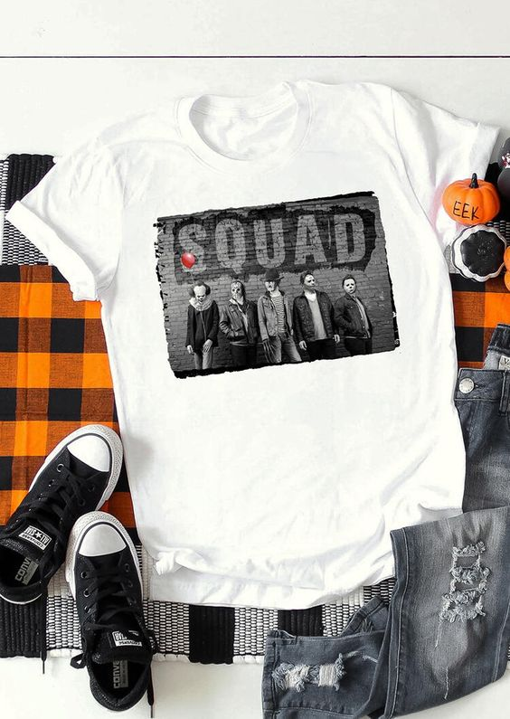 Horror Squad T-Shirt ZNF08