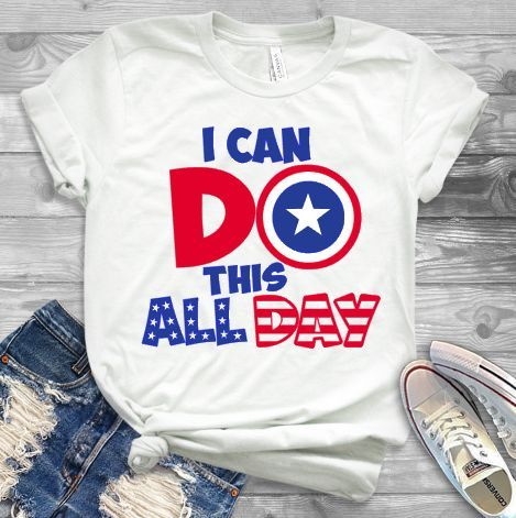 I Can Do This All Day T-Shirt ZNF08