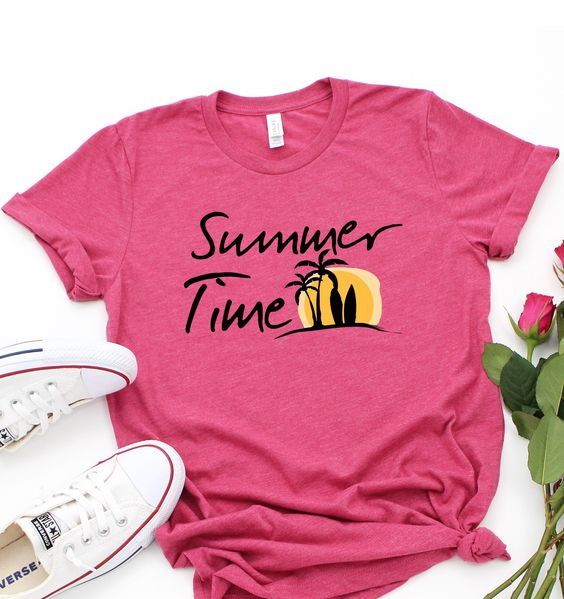 Items similar to Summer Time Tshirt ZNF08