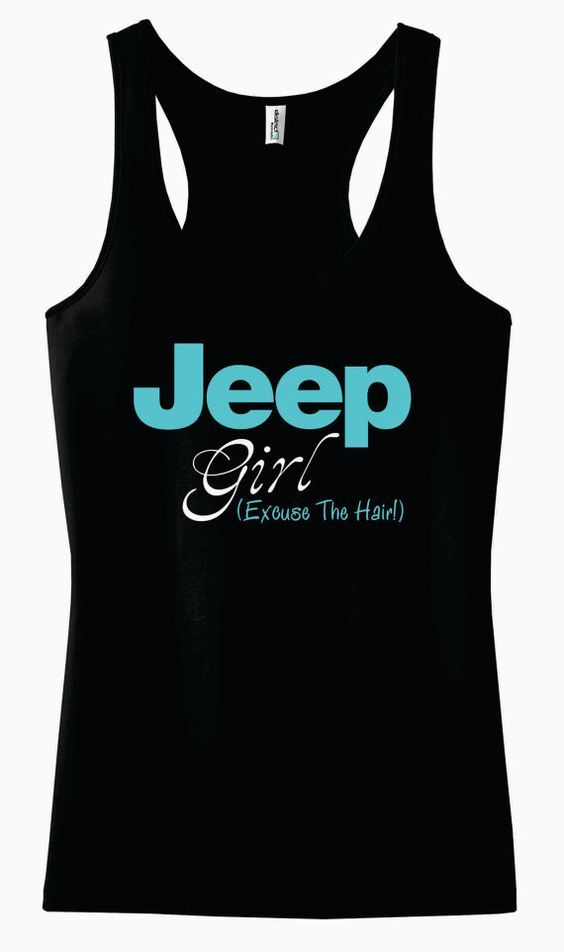 Jeep Girl Tank Top ZNF08
