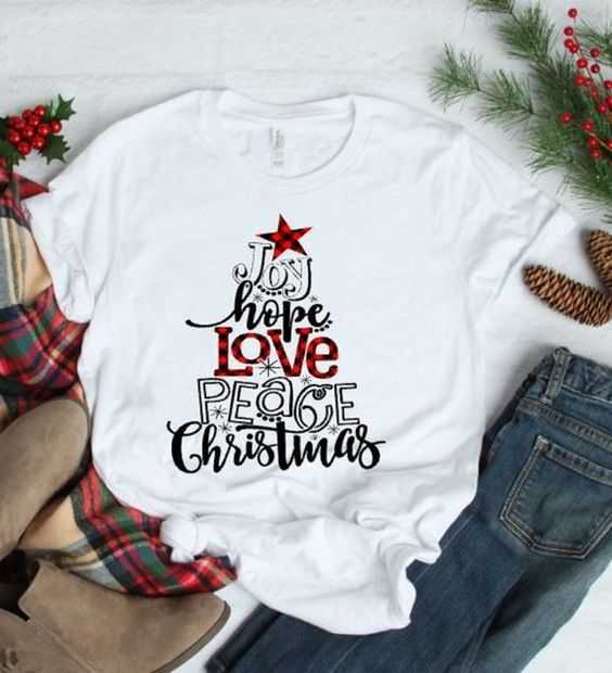 Joy Chistmas T-Shirt ZNF08