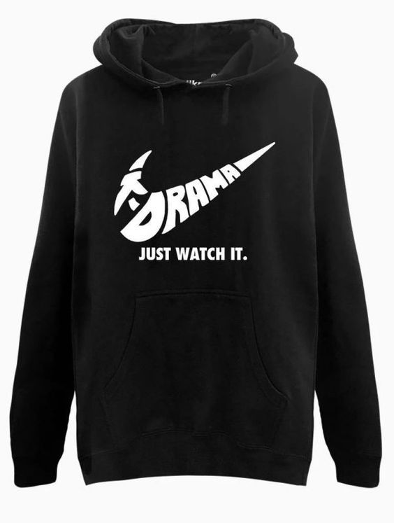 Just Watch It Hoodie ZNF08