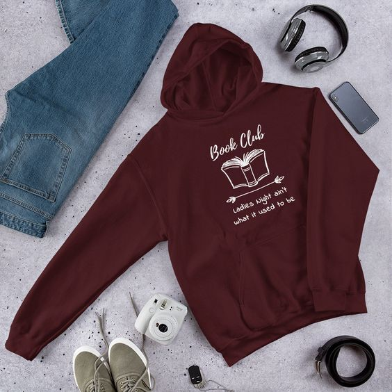 Ladies Night Book Club Hoodie ZNF08