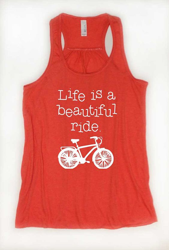 Life Is A Beautiful Ride TANK TOP ZNF08