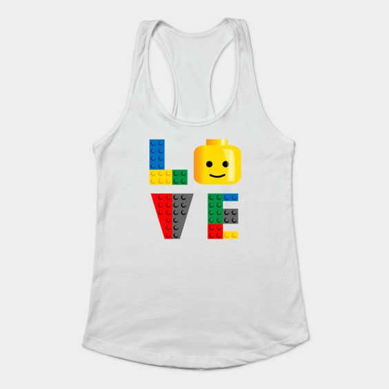 Love Lego Tank Top Women ZNF08