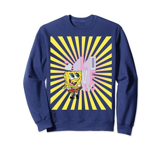 Love Spongebob Sweatshirt ZNF08