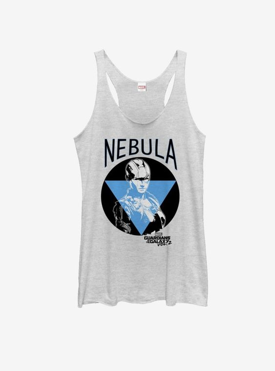 Marvel Guardians of Galaxy Vol 2 Nebula Portrait Womens Tank ZNF08