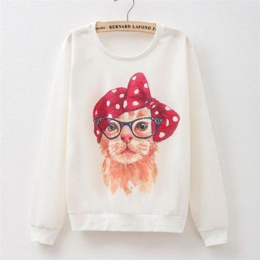 Mom-Cat-Cute-Sweatshirt ZNF08