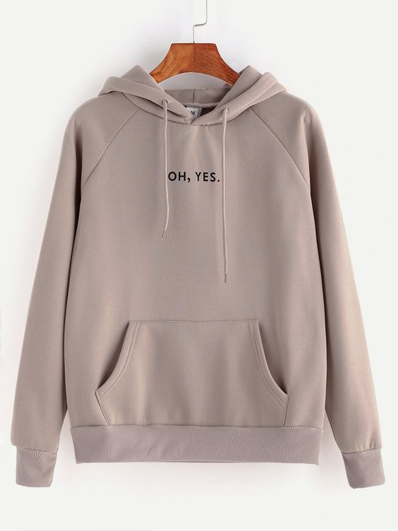 OH YES HOODIE ZNF08
