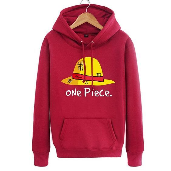 One Piece Luffy Red Hoodie ZNF08