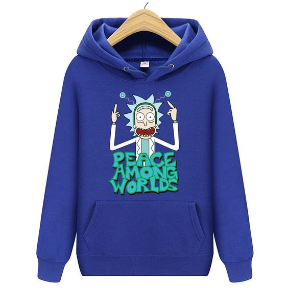 Rick morty Long Sleeve Hoodie ZNF08