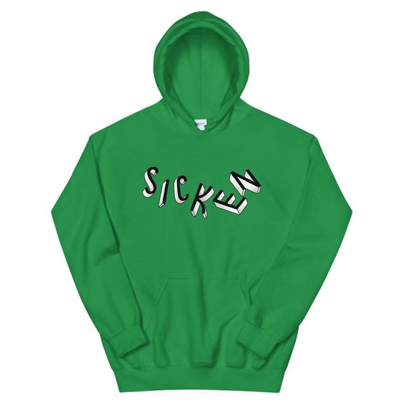 SICKEN Unisex Hooded ZNF08