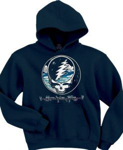 Steal Your Sky And Space Navy Hoodie ZNF08