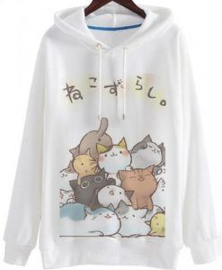 The Cat Cute Hoodie ZNF08