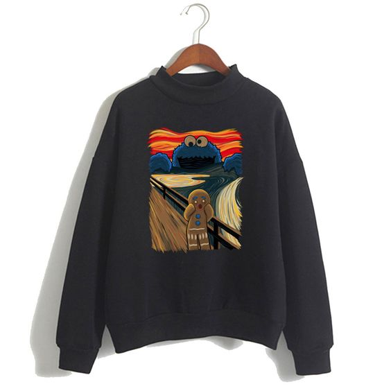 The Cookie Muncher Collab with Raffiti Sweatshirt ZNF08
