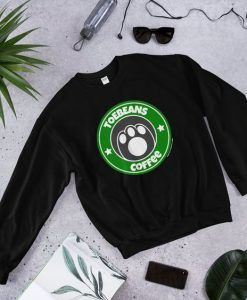 Toebeans Coffee Sweatshirt ZNF08
