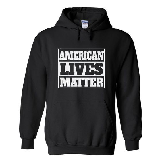 american lives HOODIE ZNF08