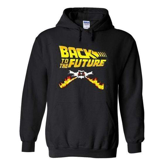back to the future hoodie ZNF08