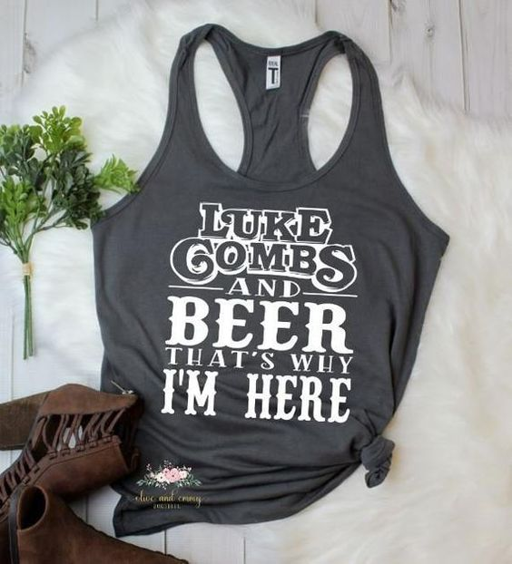 country music TANK TOP ZNF08
