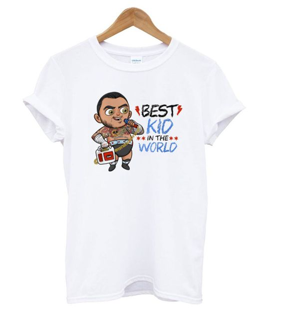 BEST KID IN THE WORK T SHIRT ZNF08