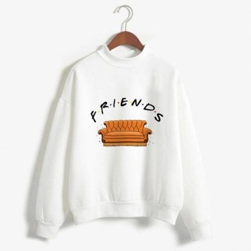 Friends Print Sweatshirt ZNF08