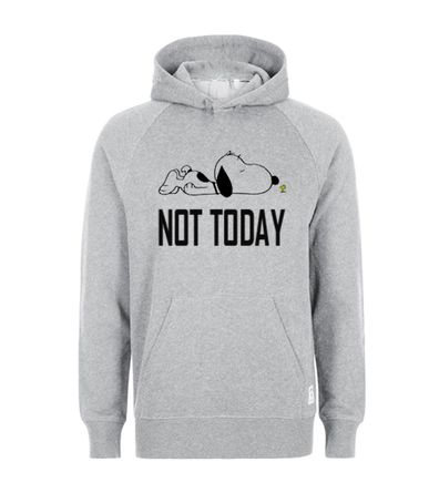 Not Today Snoopy Hoodie ZNF08