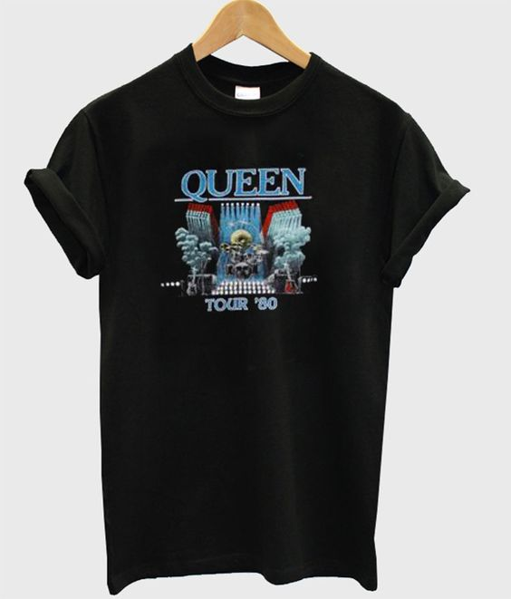 Queen Tour 80 T-shirt ZNF08