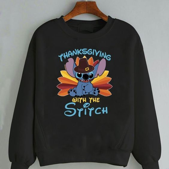 Thanksgiving Stitch Sweatshirt ZNF08