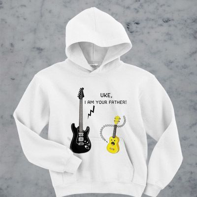 Uke I am your father hoodie ZNF08