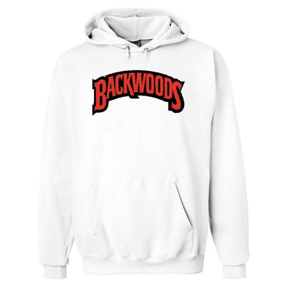 Backwoods White Hoodie ZNF08