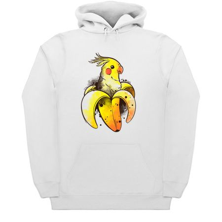 Banana Parrot Funny Hoodie ZNF08