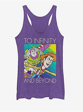 Disney Pixar Toy Story Infinity Girls Tank ZNF08