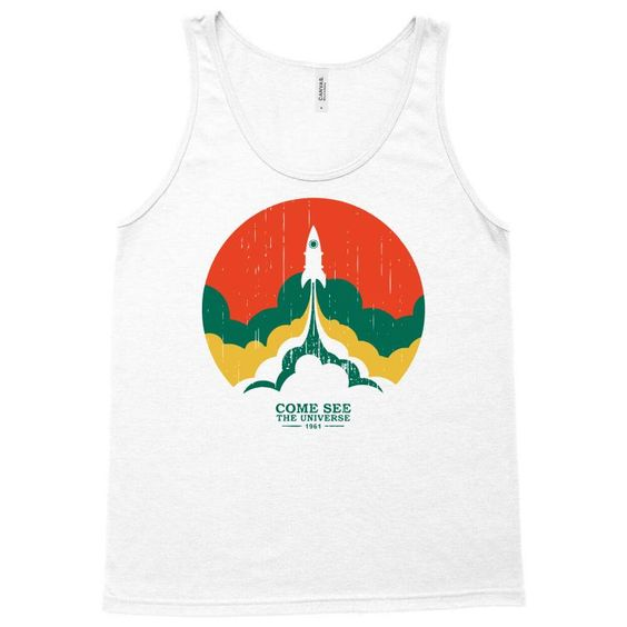 up and beyond Tank Top ZNF08