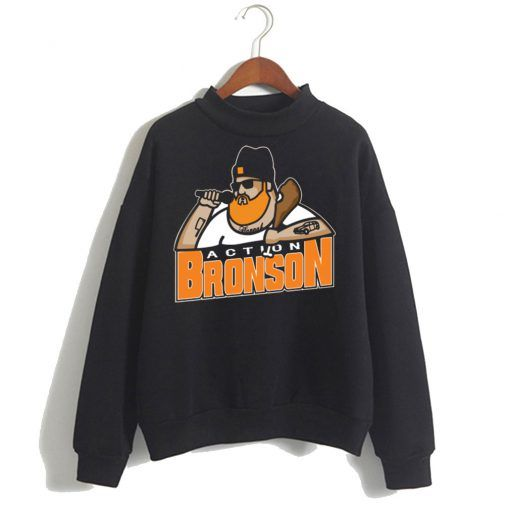 About Action Bronson Black Sweatshirt ZNF08